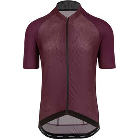 Bioracer Sprinter SS Jersey Cold Black Light Men, bordeaux